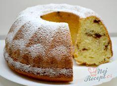 Rychlé buchty plněné džemem bez kynutí   NejRecept.cz Czech Recipes, Ethnic Recipes, Bunt Cakes, Easy Desserts, Cornbread, Vanilla Cake, Doughnut, Sweet Recipes, Deserts