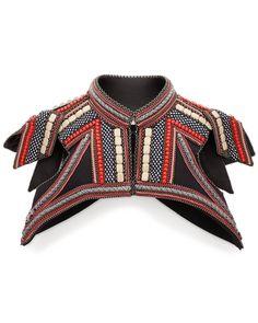 "Bea Valdes - Kikko vest - inspired by Sun Tzu, ""Art of War"""
