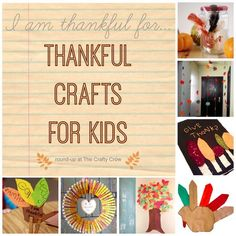 More than 35 great thankful crafts for kids!