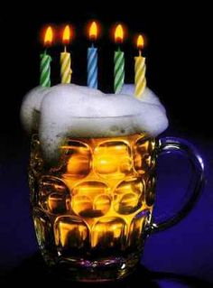 "♪ ♫ ♪ ♫""Happy BEERDAY, dude! Stay in high spirits"". Happy Birthday ♡ ┌iiiii┐♪♫♪♫ ♡ Make a wish!! ツ ♡ ♡♪ ♫ ♪ ♫"