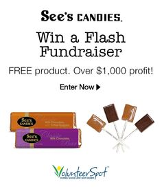 I just entered 2 win a See's Candies Fundraiser for my school. Free product, over $1,000 profit - you can too, it's easy!
