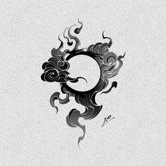 "1.0_ONE.YOUNG บน Instagram: """"구르매☁️☀️ . . . kakao: sowy"" Asian Tattoos, Dope Tattoos, Body Art Tattoos, Sleeve Tattoos, Tribal Tattoos, Belle Tattoo, C Tattoo, Power Tattoo, Circle Tattoos"