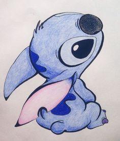 Stichzeichnung Disney Lilo Stich   - zeichnungen - #Disney #Lilo #Stich #Stichzeichnung #zeichnungen