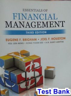Solution manual for financial reporting and analysis 13th edition by essentials of financial management 3rd edition brigham test bank fandeluxe Gallery