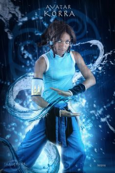 All sizes | jazzyray-avatar-korra-waterbending-FFD-HDR-Final | Flickr - Photo Sharing!