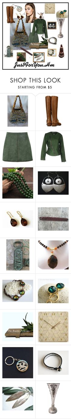 """""""Gifts ideas"""" by justforyouhm ❤ liked on Polyvore featuring Tory Burch, George J. Love, Twin-Set and Grado"""