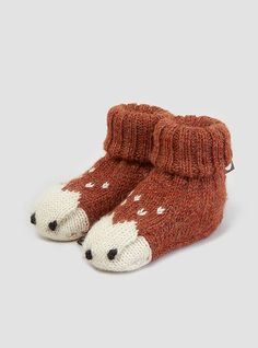 Couverture and The Garbstore - Childrens - Oeuf - Animal Booties & Mittens