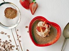 Old-Fashioned Chocolate Pudding -  A Valentine's Day Meal meal