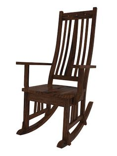 Eastern Rocking Chair in Frontier Oak  $509 in any wood you want!