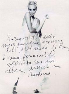 Italian loose lettering