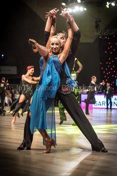 Anastasiia Iermolenko and Marek Bures - Winners WDSF International Open Latin Wrocław 2016 taniec towarzyski latin dance dancesport ballroom dancing dancer dancers samba rumba chachca paso