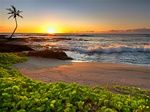 Hawaii, the big island sunset
