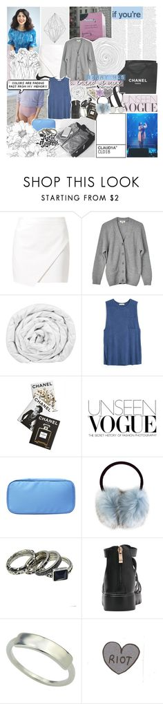 """there are no words you can understand"" by kristen-gregory-sexy-sports-babe ❤ liked on Polyvore featuring Chanel, SET, Samuji, Brinkhaus, MANGO, Assouline Publishing, Carven, Illesteva and vintage"