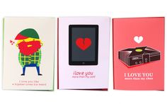 Valentines Day cards by @themagicjar