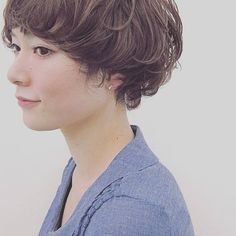 Hair And Beauty Supply Store Permed Hairstyles, Boy Hairstyles, Short Hairstyles For Women, Wavy Pixie, Short Pixie, Short Hair Cuts, Curls, Curly Hair Styles, Hair Beauty