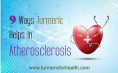 Studies indicate that turmeric can help in various ways in atherosclerosis.