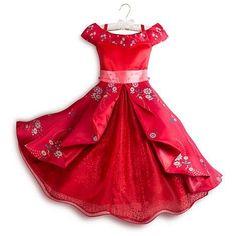 Authentic Disney Store Elena of Avalor Deluxe Dress Costume Party Halloween Girl