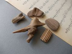 Baltic Sea DRIWTWOOD MAGNETS / Made by Nature by LovelyFamilyShop, $15.00