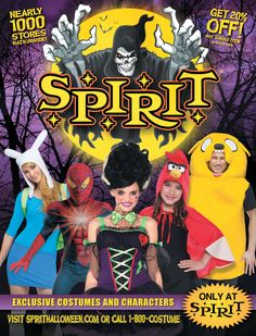 exclusive offer 20 off from spirit halloween on catalog spree great costumes for - Halloween Catalogs