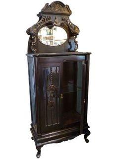 Curio Cabinet - One Kings Lane - Vintage  Market Finds - Furniture