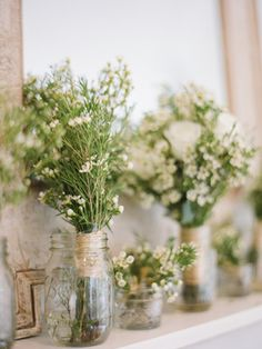 White and Green Virginia Wedding by Elisa B, Part II « Southern Weddings Magazine