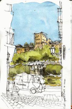 GLWSKETCHWORKS: Granada Spain