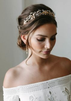 ROSEBURY crystal wedding crown 2