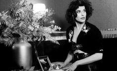 Fanny Ardant in Truffaut's Finally Sunday (Vivant Dimanche).