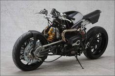 Harrier Hub-Center Steered Motorcycle from SES/ISR