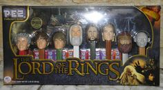 New Collectors Series Pez Dispensers Lord of the Rings