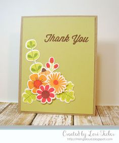 Fall Florals Thank You card-designed by Lori Tecler/Inking Aloud-stamps and dies from My Favorite Things