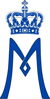 Royal Monogram of Princess Mary of Denmark