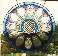 Native American Stained Glass Patterns | native american 'rose' window | Flickr - Photo Sharing!