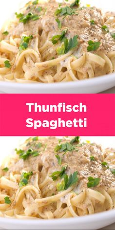 Thunfisch-Spaghetti Rezept – Schnelle und Einfache Spaghetti Rezepte Tuna spaghetti recipe – tuna spaghetti are easy to prepare and taste great for all. Quick and easy spaghetti recipes. Tuna Spaghetti Recipe, Spaghetti Recipes, Pasta Recipes, Ham Recipes, Salad Recipes, Chicken Recipes, Easy Smoothie Recipes, Good Healthy Recipes, Vegetarian Recipes