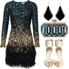 Leave a little sparkle wherever you go by didiiidia on Polyvore featuring Jimmy Choo, Lolita Lorenzo and Kendra Scott