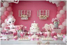 marie birthday decoration