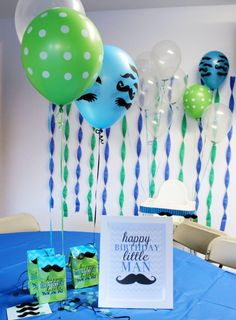 """""""Little Man"""" Birthday party - tons of cute ideas for any birthday party 