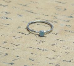 aquamarine + citrine stacking rings for march and november ♥ Perfect for me and my daughter!