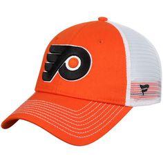 a03dea81141 Men s Orange Philadelphia Flyers Core Trucker Adjustable Snapback Hat