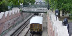Budapest  funicular to Buda's Castle Hill