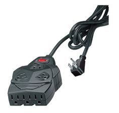 Mighty 8 Surge Protector, 8 Outlets, 6 Ft Cord, 1300 Joules, Black