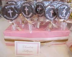 """Photo 1 of 22: Pink & Champagne with crystals / Baptism """"Harper's Baptism"""" 