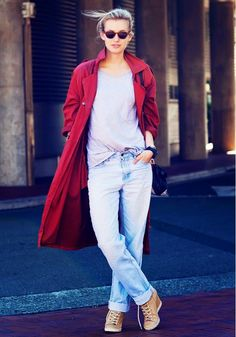 Parisienne: Is Tucking Your Jeans Into Boots Officially Out of Style?