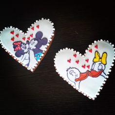 #handmade #cookies #love #donald #daizy #mickey #minnie #duck #mouse #sweet #food䐑̆