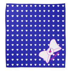 Hearts Abound Pet Bandana  $16.95  by Boagies_Backyard  - cyo customize personalize unique diy idea