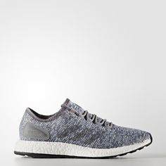 Run strong in these men's shoes built to take to the street. The boost™ midsole returns energy from each stride to propel you forward. The knit upper adapts to your foot through the gait cycle, and a stretchy outsole supports every footstrike.
