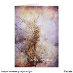 Frosty Christmas Card