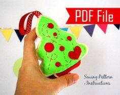 Star Pattern Star Christmas Ornament Sewing pattern by PatternHub