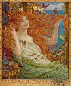 """Henry Justice Ford (1860-1941), """"Venus's Fly Trap"""""""