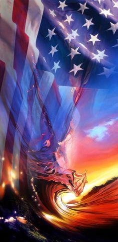 Happy Birthday America! Fine Art by Ashton Howard